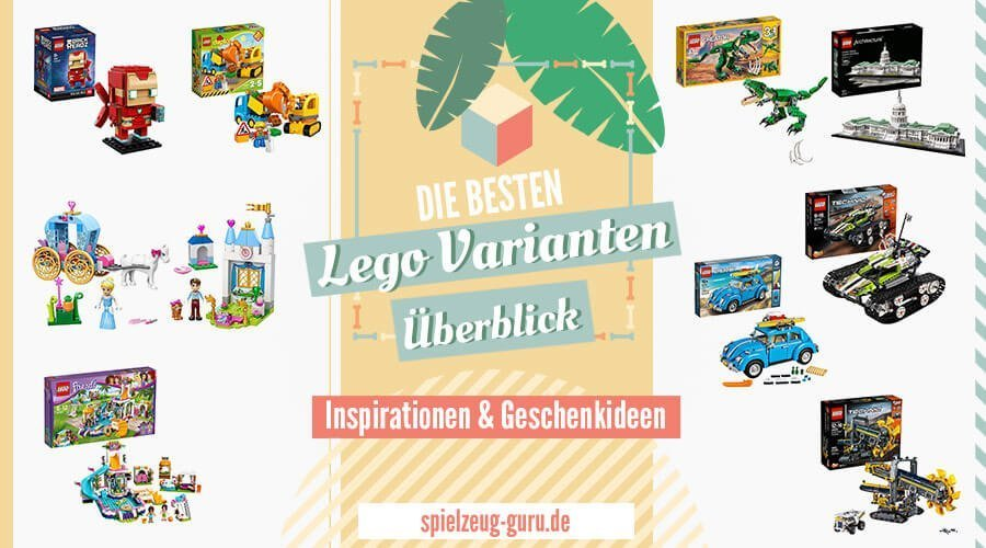 Lego Varianten Überblick