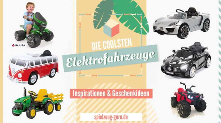 Die besten Elektrofahrzeuge für Kinder