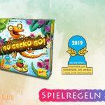 Go Gecko Go! | Kinderspiel des Jahres 2019 [nominiert] – Anleitung, Regeln & Review