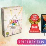 Just One | Spiel des Jahres 2019 – Anleitung, Regeln & Review