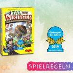 Tal der Wikinger | Kinderspiel des Jahres 2019 – Anleitung, Regeln & Review