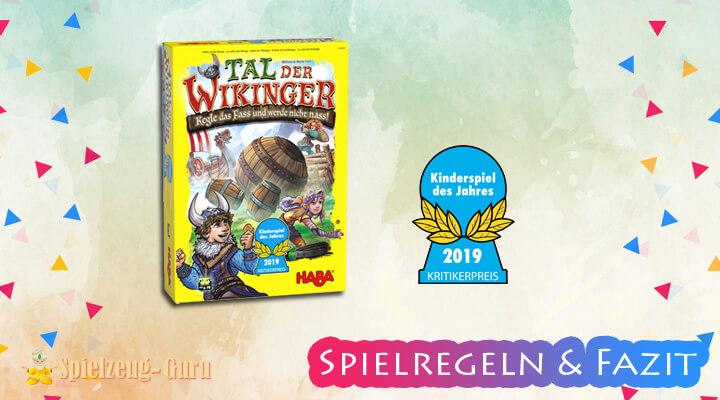 Tal der Wikinger Kinderspiel des Jahres 2019 – Anleitung, Regeln, Review
