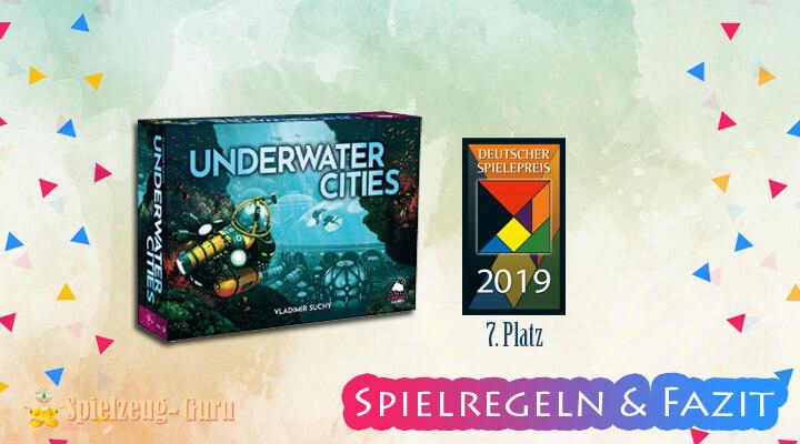 Underwater Cities | 7. Platz Deutscher Spielepreis 2019 – Anleitung, Regeln & Review