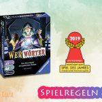 Werwörter | Spiel des Jahres 2019 [nominiert] – Anleitung, Regeln & Review