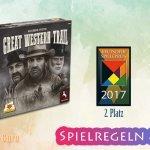 Great Western Trail, 2. Platz Deutscher Spielepreis 2017 – Anleitung, Regeln & Review