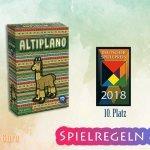 Altiplano 10. Platz Deutscher Spielepreis 2018 – Anleitung, Regeln & Review