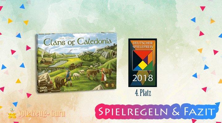 Clans-of-Caledonia Regeln-Fazit