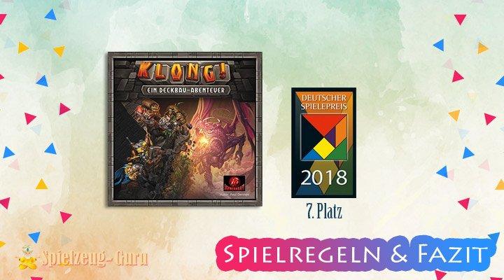 Klong! 7. Platz Deutscher Spielepreis 2018 – Anleitung, Regeln & Review