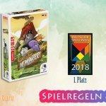 Memoarrr!, 1. Platz Deutscher Kindspielepreis 2018 – Anleitung, Regeln & Review