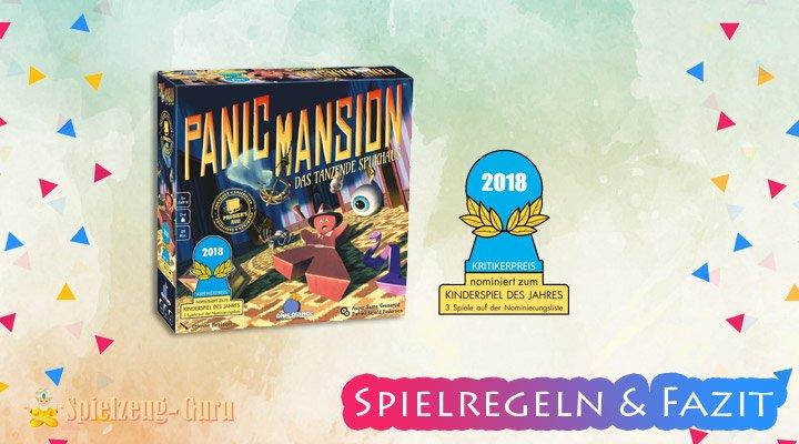 Panic-Mansion Regeln-Fazit