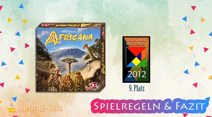 AFRICANA-Brettspiel Regeln-Fazit