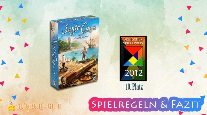 SANTA-CRUZ- Brettspiel Regeln-Fazit