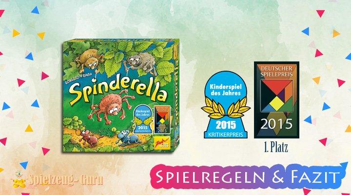 Spinderella-Regeln-Fazit