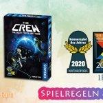 Die Crew | Kennerspiel des Jahres 2020 & Gewinner Spielepreis – Anleitung, Regeln & Review