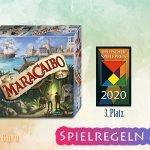 Maracaibo | 3. Platz Deutscher Spielpreis 2020  – Anleitung, Regeln & Review