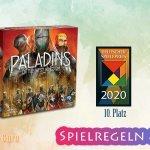 Paladine des Westfrankenreichs | 10. Platz Deutscher Spielpreis 2020 – Anleitung, Regeln & Review