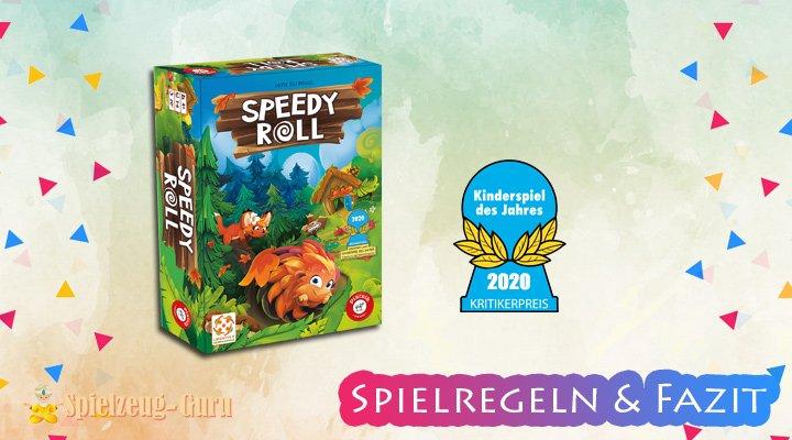 Speedy Roll | Kinderspiel des Jahres 2020 – Anleitung, Regeln & Review