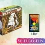 Parks | 8. Platz Deutscher Spielpreis 2020  – Anleitung, Regeln & Review