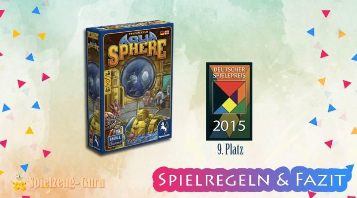 AquaSphere | 9. Platz Deutscher Spielepreis 2015 – Anleitung, Regeln & Review